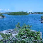 A great location for swimming and snorkeling.