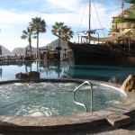 One of several pools at Villa del Palmar